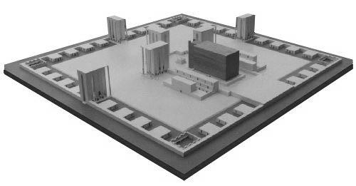 Millennial Temple Model Of Ezekiels Vision Third 3rd Temples 40